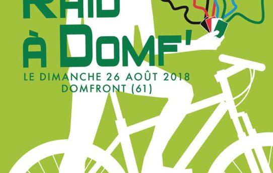 RAID A DOMF le 26 aout 2018